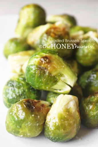 theHONEYhunny Blog - Roasted Brussels Sprouts