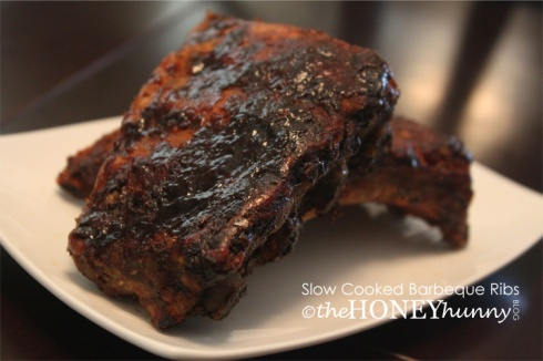 theHONEYhunny Blog - Slow Cooked Barbeque Ribs